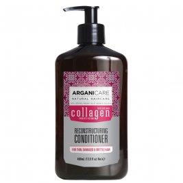 Arganicare Balsam reparator cu colagen pentru par subtire, deteriorat si fragil 400 ml