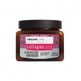 Arganicare Masca regeneranta cu colagen pentru par subtire, deteriorat si fragil 500 ml