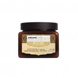 Arganicare Masca reparatoare cu ulei de ricin pentru toate tipurile de par 500 ml