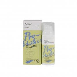 Kilig Derma Crema de fata cu probiotice pentru ten sensibil si acneic 50 ml