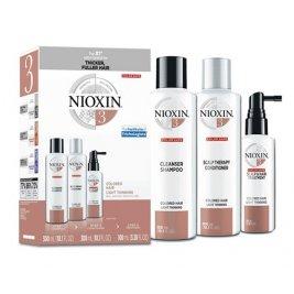 Nioxin System 3 Pachet anticadere normala pentru par vopsit, 700ml