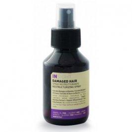 Insight - Spray restructurant fara clatire pentru par deteriorat 100 ml