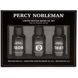 Percy Nobleman - Set uleiuri pentru barba Signature Scent, 1806 si 1881