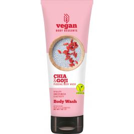 CECE Vegan Desserts - Gel de dus vegan hidratant cu Chia si Goji 200ml