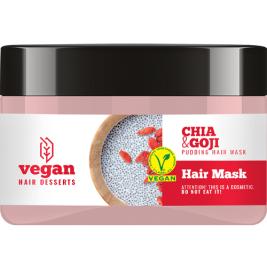 CECE Vegan Desserts - Masca vegana cu Chia si Goji pentru par uscat 300ml